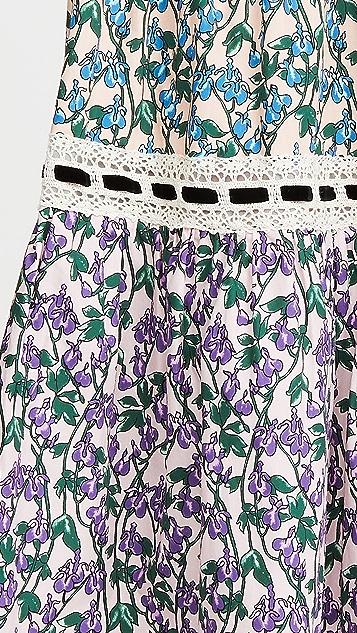 Runway Marc Jacobs 蕾丝饰边层褶半身裙