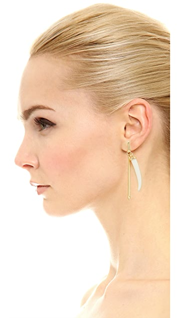 Rebecca Minkoff Tusk Drop & Stud Earrings
