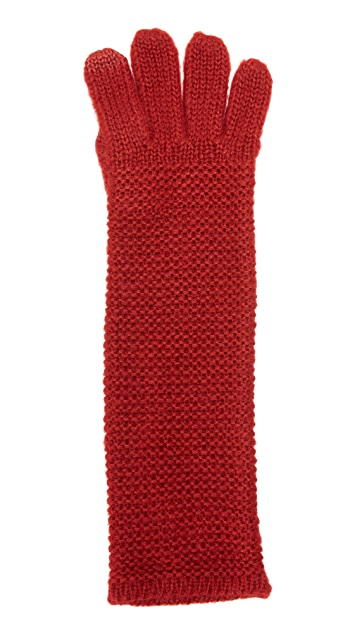 Rebecca Minkoff Garter Stitch Texting Gloves