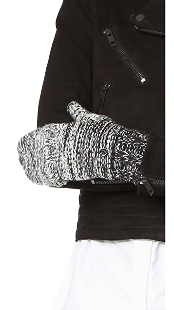 Rebecca Minkoff Melange Degrade Pop Top Gloves