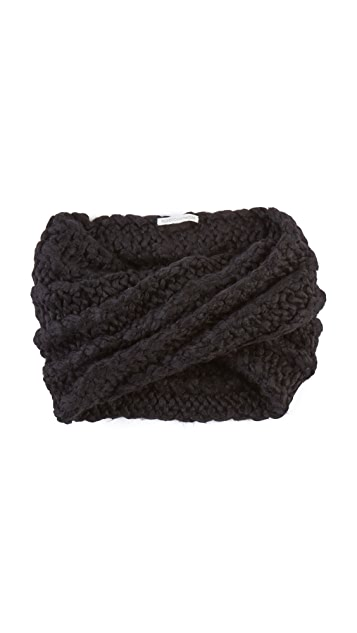 Rebecca Minkoff Hand Knit Cable Neck Warmer