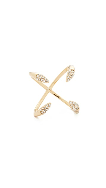 Rebecca Minkoff Pave Claw Ring
