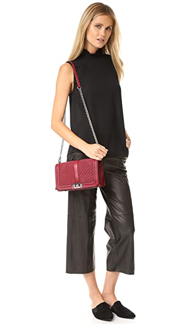 Rebecca Minkoff Suede Love Cross Body Bag