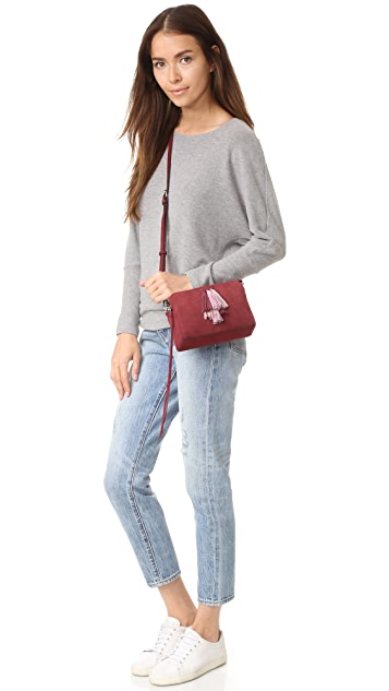 Rebecca Мinkoff Замшевая сумка через плечо Sofia