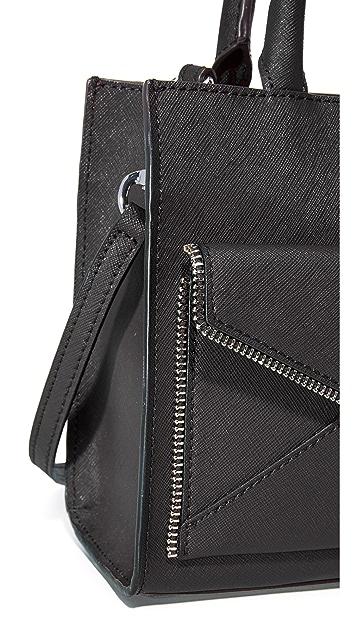 Rebecca Minkoff Миниатюрная объемная сумка с короткими ручками Leo