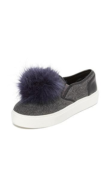 Rebecca Minkoff Sloane Pom Pom Sneakers