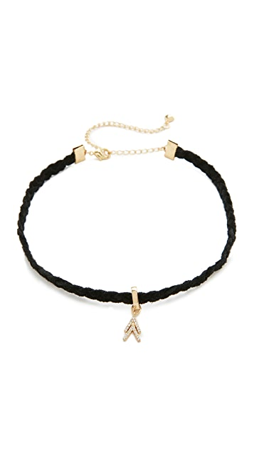 Rebecca Minkoff Arrows Choker Necklace