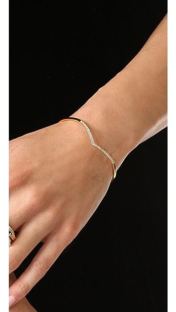 Rebecca Minkoff Thin V Bracelet