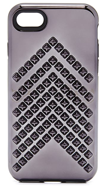 Rebecca Minkoff Chevron Stud iPhone 7 Case