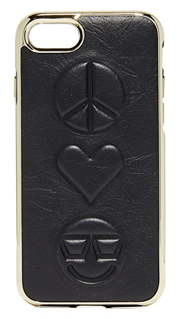 Rebecca Minkoff Peace Love Happiness iPhone 7 Case