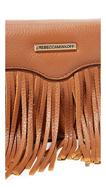 Rebecca Minkoff Fringe Tech Cross Body Bag