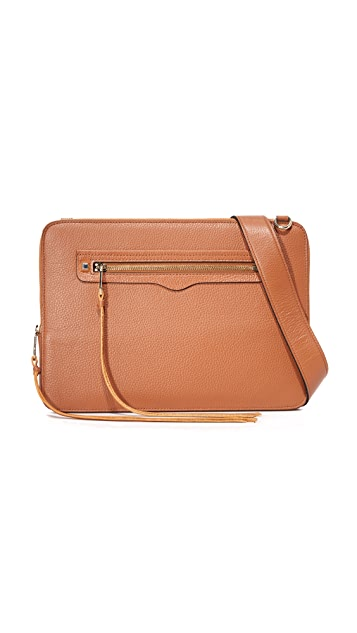 Rebecca Minkoff Regan Laptop Sleeve with Strap