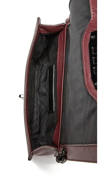 Rebecca Мinkoff Стеганая сумка через плечо с шевронами