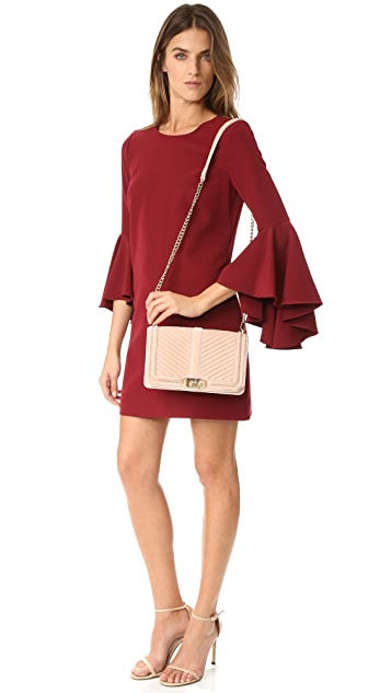 Rebecca Minkoff Velvet Love Cross Body Bag