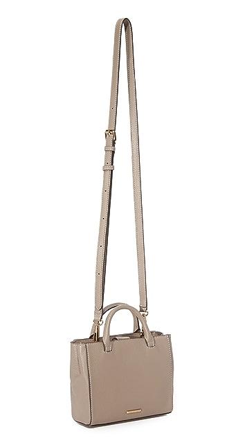 Rebecca Minkoff Dog Clip Tote Cross Body Bag