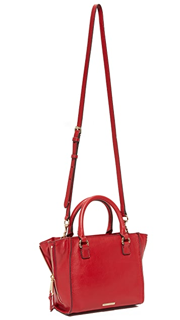 Rebecca Minkoff Side Zip Mini Regan Tote