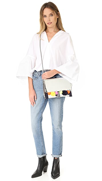 Rebecca Minkoff Sofia Clutch Cross Body Bag