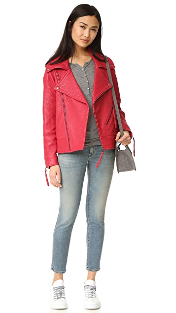 Rebecca Minkoff Brutus Leather Jacket