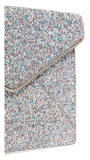 Rebecca Minkoff Multi Glitter Leo Clutch