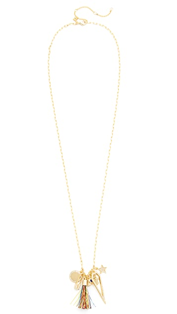 Rebecca Minkoff Traveler Charm Necklace