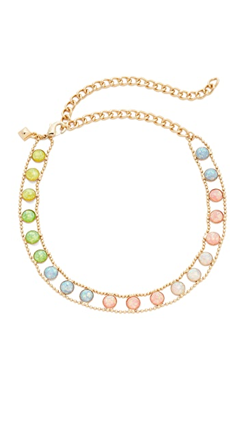 Rebecca Minkoff Illusions Choker Necklace