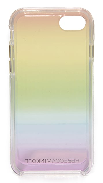 Rebecca Minkoff Rainbow Ombre Transparent iPhone 7 Case