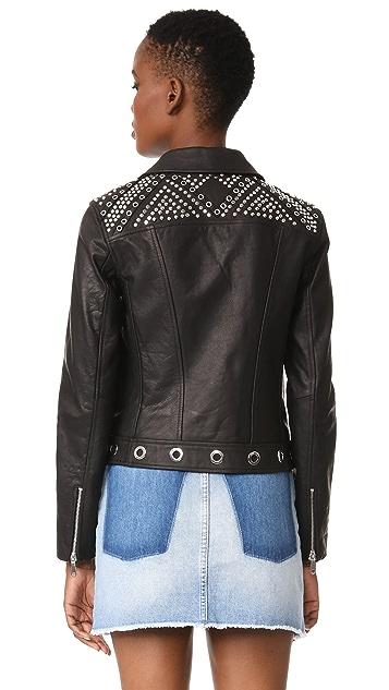Rebecca Minkoff Bougainvillea Moto Jacket