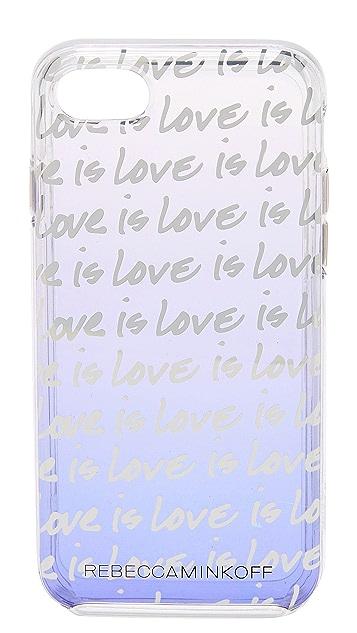 Rebecca Minkoff Love is Love iPhone 7 Case