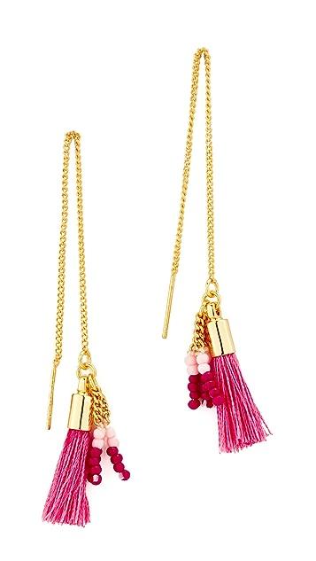 Rebecca Minkoff Threader Earrings with Tassels