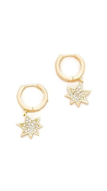 Rebecca Minkoff Pow Huggie Earrings