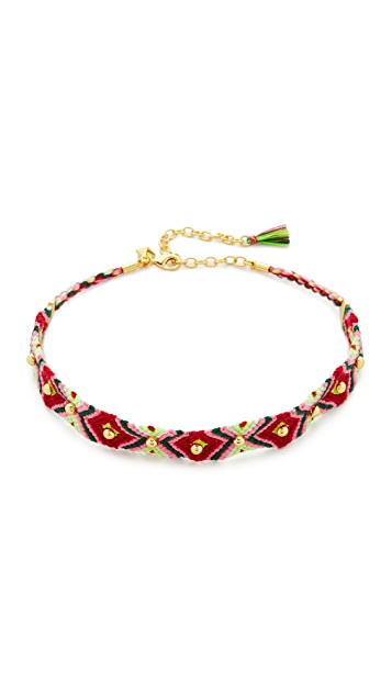 Rebecca Minkoff Dome Stud Friendship Choker Necklace