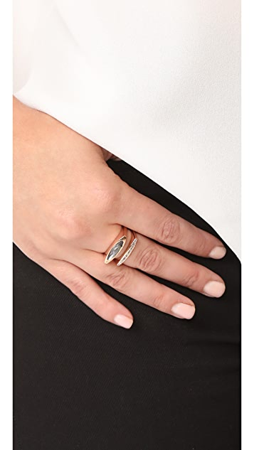 Rebecca Minkoff Sparkler Square Stacking Ring