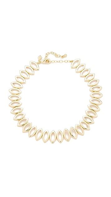 Rebecca Minkoff Navette Metal Choker Necklace