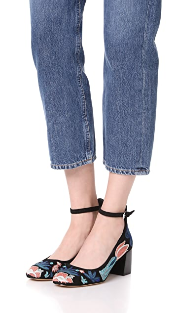 Rebecca Minkoff Bridget Too Embroidered Pumps