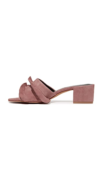 Rebecca Minkoff Isabelle Suede City Mules