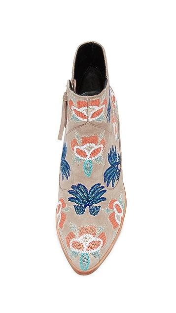 Rebecca Minkoff Lulu Too Embroidered Booties