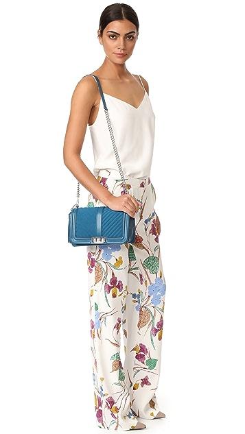 Rebecca Minkoff Love Cross Body Bag with Tassel