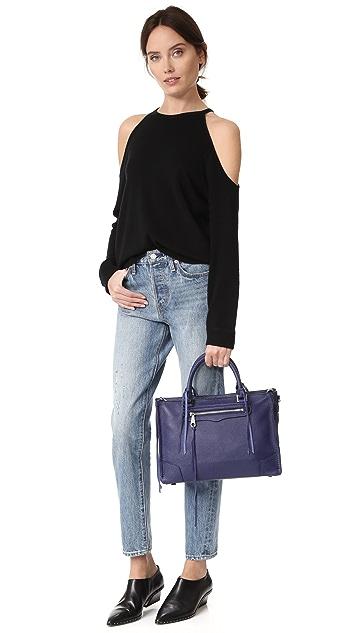 Rebecca Мinkoff Объемная сумка-портфель Regan с короткими ручками