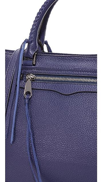 Rebecca Minkoff Объемная сумка-портфель Regan с короткими ручками