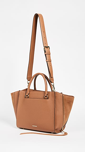 Rebecca Minkoff Side Zip Medium Regan Satchel