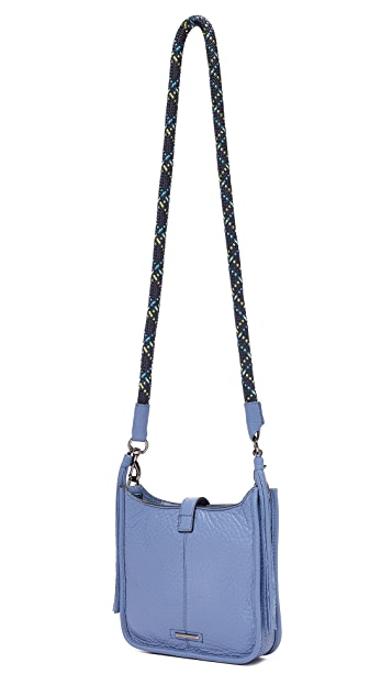 Rebecca Minkoff Mini Unlined Feed Bag with Climbing Rope