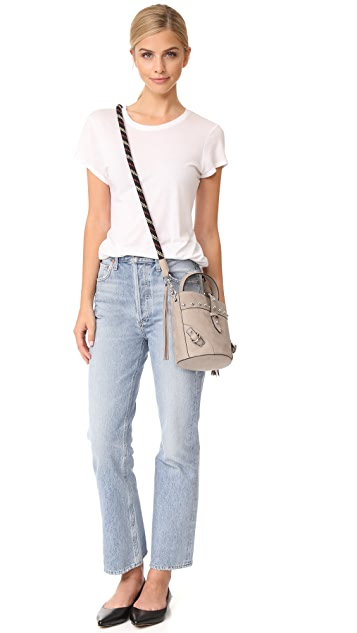 Rebecca Minkoff Rose Mini Tote with Climbing Rope