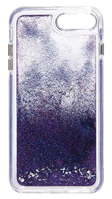 Rebecca Minkoff Galaxy Glitterfall iPhone 7 Plus Case