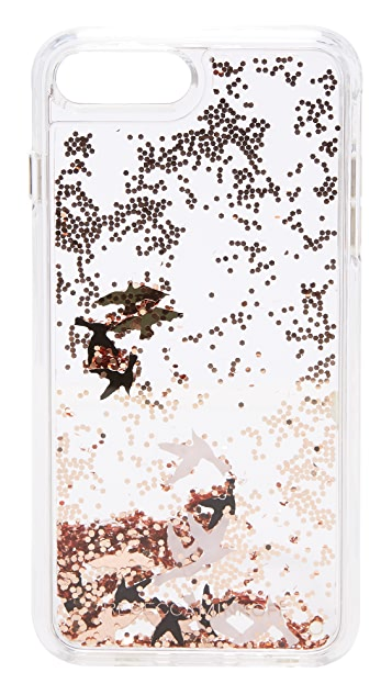 Rebecca Minkoff Birds Glitterfall iPhone 7 Plus Case