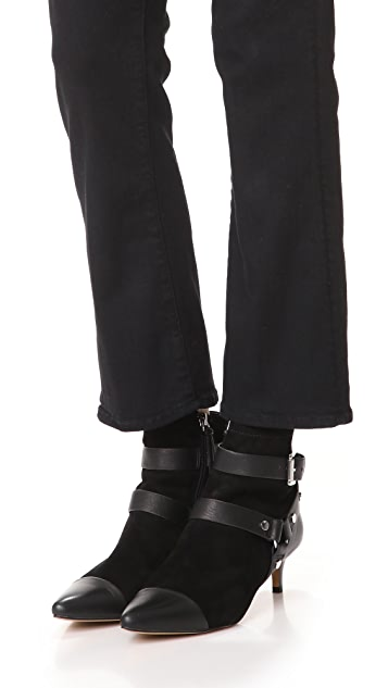 Rebecca Minkoff Saskia Harness Booties