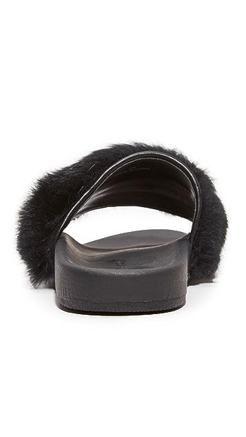 Rebecca Minkoff Sammi Fur Slides