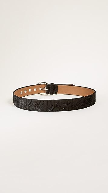 Rebecca Minkoff Sienna Velvet Belt