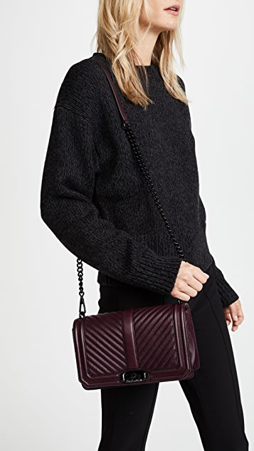 autumn shoes the best attitude promo code Rebecca Minkoff Chevron Quilted Love Cross Body Bag | SHOPBOP