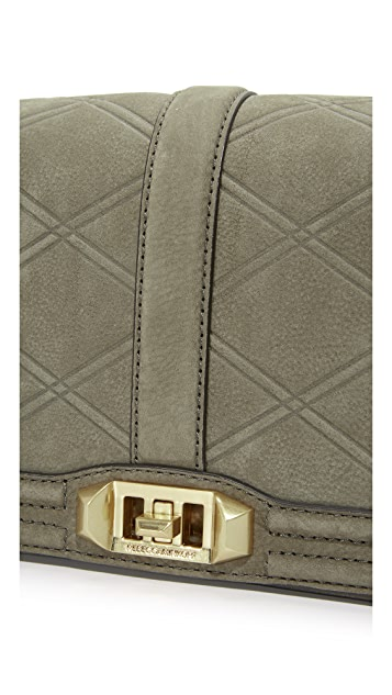 Rebecca Minkoff Love Cross Body Bag with Beaded Strap