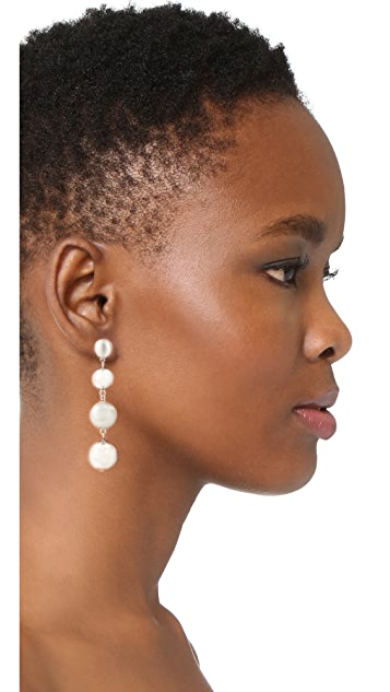 Rebecca Minkoff Statement Sphere Drop Earrings